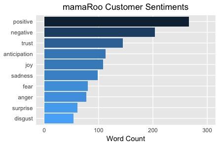 mamaRoo Positive Customer Sentiments