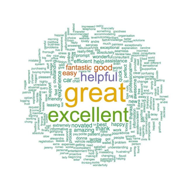 Positive Maxxia Word Cloud