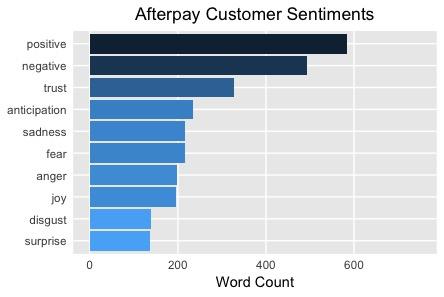 Positive Customer Sentiments