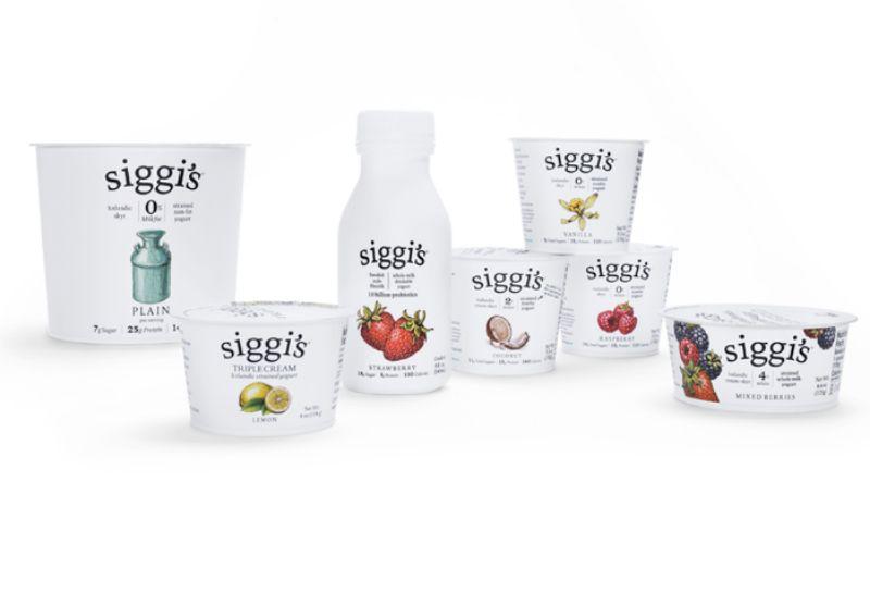 Various Siggi's Yogurts